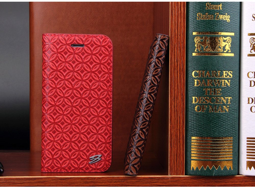 Luxury Cowhide Full cover case For iphone X 6 6s 7 8 First layer cowhide Copper money card holder For iphone 6 7 8 plus bag case (6)