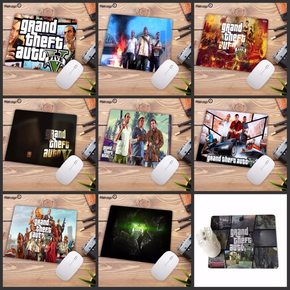 Mairuige 220X180X2MM GTA V Grand Theft Auto Grand Theft Auto V Rockstar Games Computer Gaming Speed Mouse Pad Gamer Play Mats