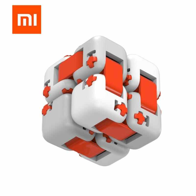 Xiaomi Mi Toy Global Edition Building Block Mitu Fingertip Toy Finger Portable Millet Pocket Toy Smart Magic Square Xiomi Gift