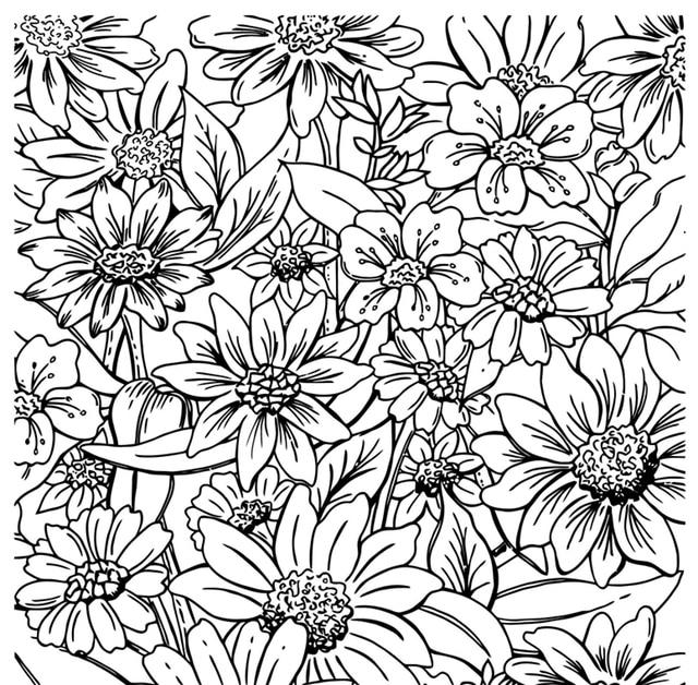 Sello transparente Fondo flor DIY álbum de recortes Tarjeta de papel artesanía silicona rodillo transparente sellos 998