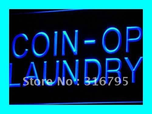 i391 Coin-op Laundry Dry Clean Display NEW Light Sign On/Off Swtich 20+ Colors 5 Sizes