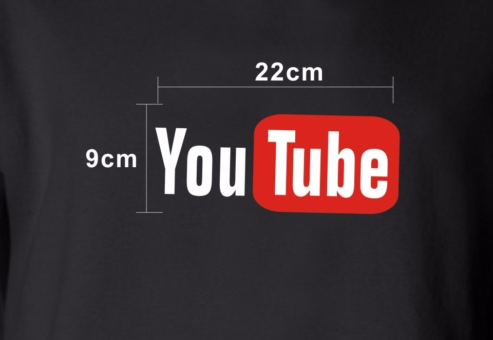 17 best friends t shirt harajuku Youtube Logo Printed tshirts cotton women with 4XL You Tube T-shirts for women Tee Shirt 14
