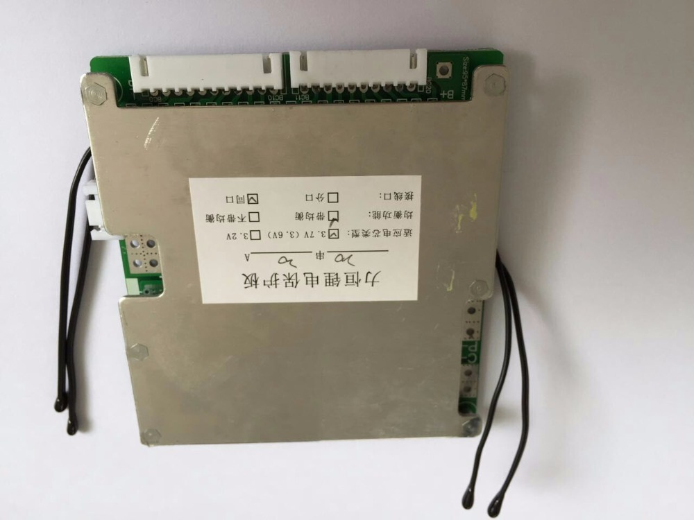 ФОТО lithium ion smart bms for 20S-30S Li-ion or LiFePO4 battery
