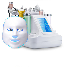 11 In 1 Vacuum Face Pore Cleanser Massage Peeling Water Oxygen Jet Skin Lifting Facial Beauty Machine