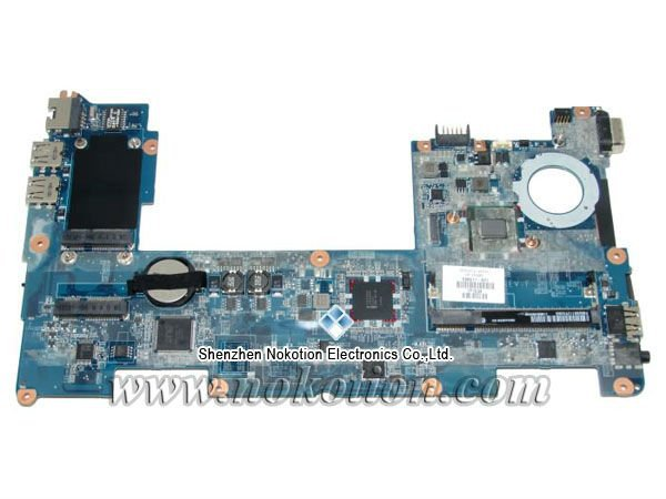 NOKOTION 598011-001 laptop motherboard for HP mini 210 N450 DDR2 Mainboard full Tested mini itx motherboard adv an tech aimb 212n s6a1e n450 twin 6 fan serial lvds 100% tested perfect quality