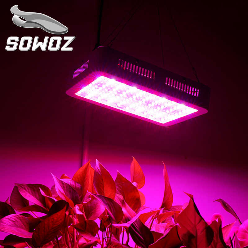 SOWOZ 600W 1000W 1200W LED Grow light Full Spectrum for Indoor Greenhouse grow tent plants grow led light