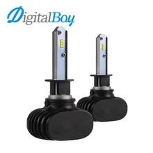 New H1 LED Headlight Car Bulbs LED Single Beam Headlamp 50W 8000lm Auto H1 Lights Bulb 6000k Car Replacement Front LED Lights
