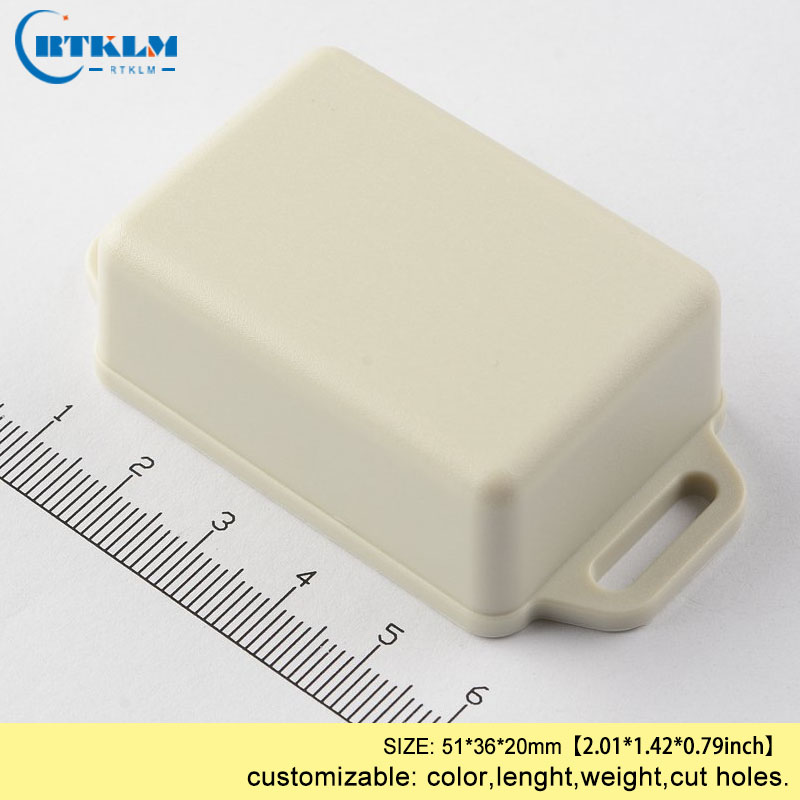 Wall mounted ABS plastic box enclosures for device project junction box 51*36*20mm diy cases IP54 ABS housing plastic enclosure image