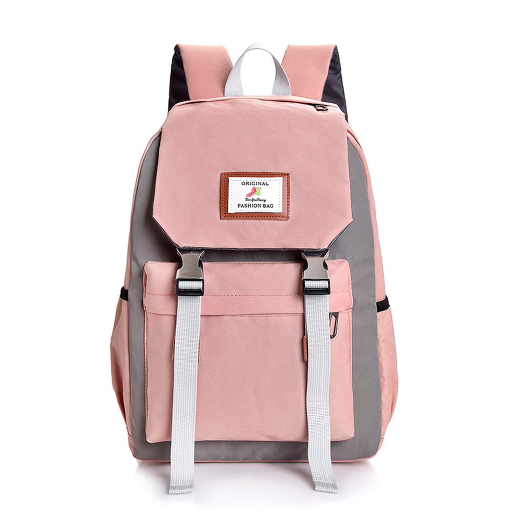 Large Capacity Canvas Backpack Travel Bag School Bags 2