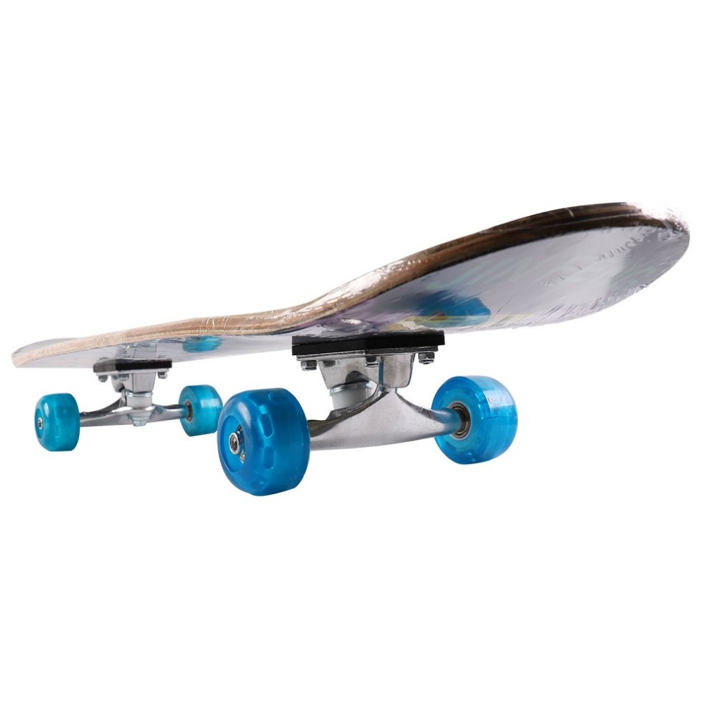 Double Sided Four-Wheel Children Skateboard Kids Entertainment Skate Scooter Outdoor Extreme Sports Hoverboard For Entertainment
