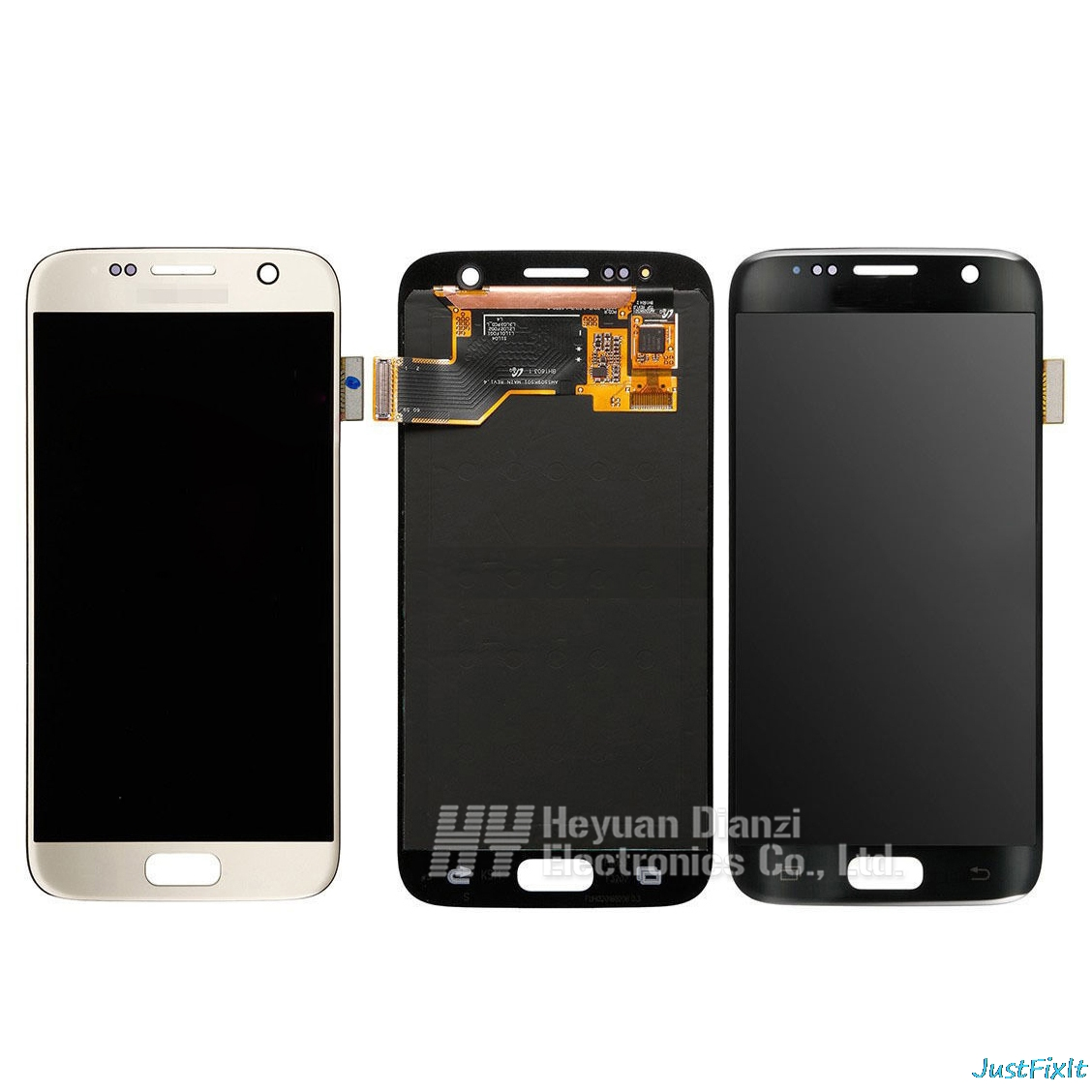 100 original For SAMSUNG GALAXY S7 G930F G930A LCD Display Touch Screen Digitizer Super Amoled Replacement