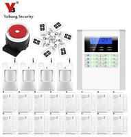 Free Ship 10B Professional Wireless Home Security Alarm System Kit With Auto Dial Gsm Alarma With