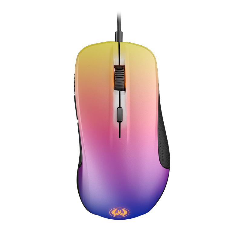 100% Original Steelseries Rival 300 CSGO Fade Edition Optical Gradient Gaming Mouse 6500CPI with retail box steelseries rival 500 62051