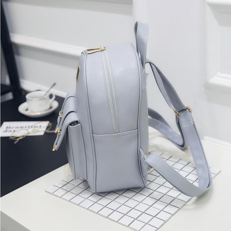 bolsa de ombro bolsa de Técnica : PU Leather Backbag Bagpack