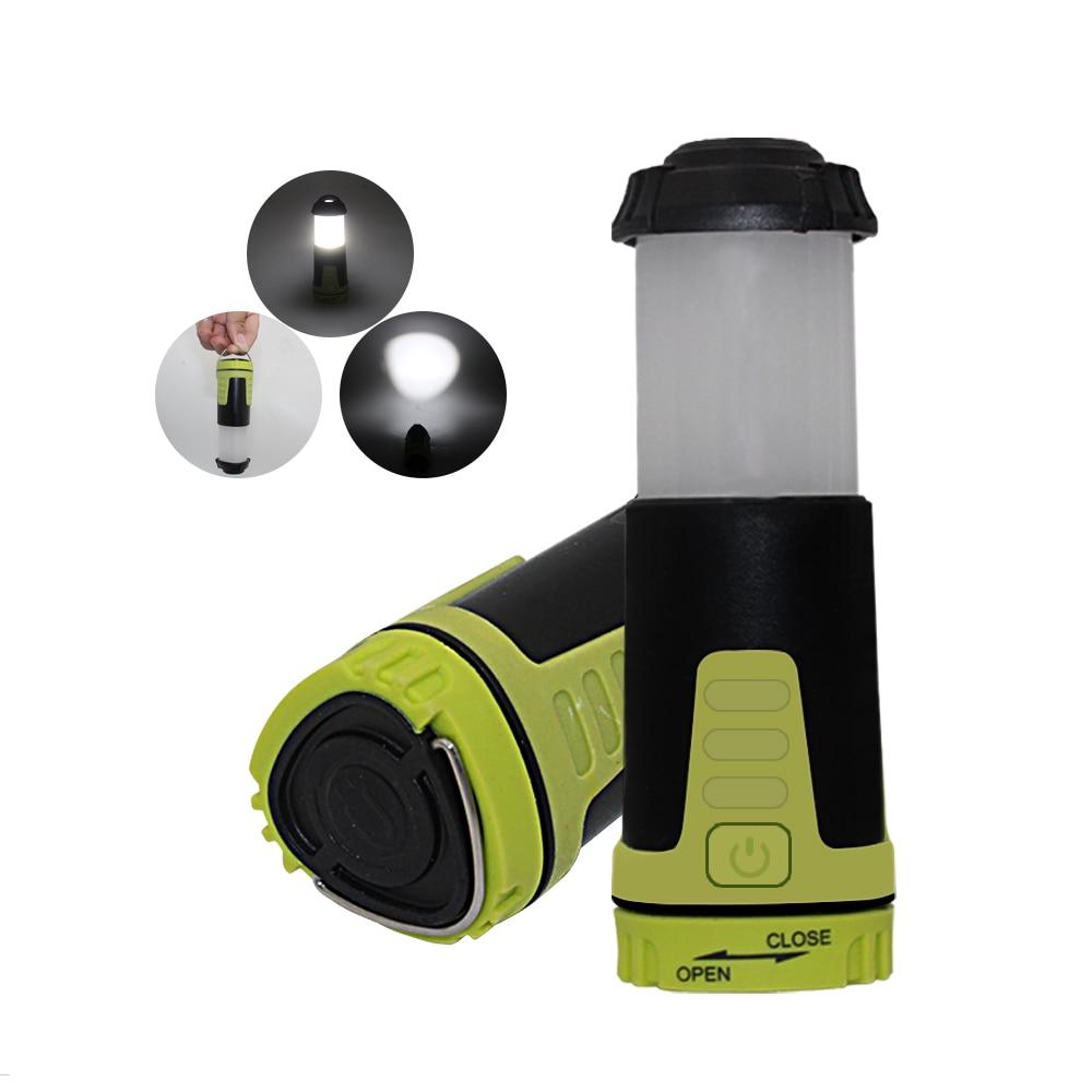 Ultra Helle Led Camping Laterne Zelt Hängen Taschenlampe Mit Kompass Im Freien Faltbare Taschenlampe Notstrom-bank Licht & Beleuchtung Tragbare Laternen