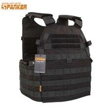Spanker Outdoor Hunting Vests Tactical 6094 Vest 1050D Military Nylon Unloading Waistcoat Combat Chaleco Tactico