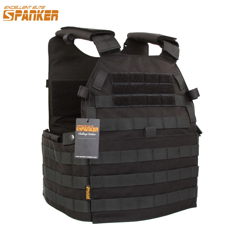 EXCELLENT ELITE SPANKER Outdoor Hunting Vests Tactical Army Vest Molle Military  Unloading Waistcoat Combat Tactical Vest Men's new hot sniper tactical bionic camouflage vest army fans hunting thermal vests camo clothes for winter outdoor sports