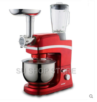 Electric Stand Food Mixer Egg Beater Dough Mixing Machine 6 In 1 Juice Maker/ Meat Grinding /Food Supplement SM-1083S
