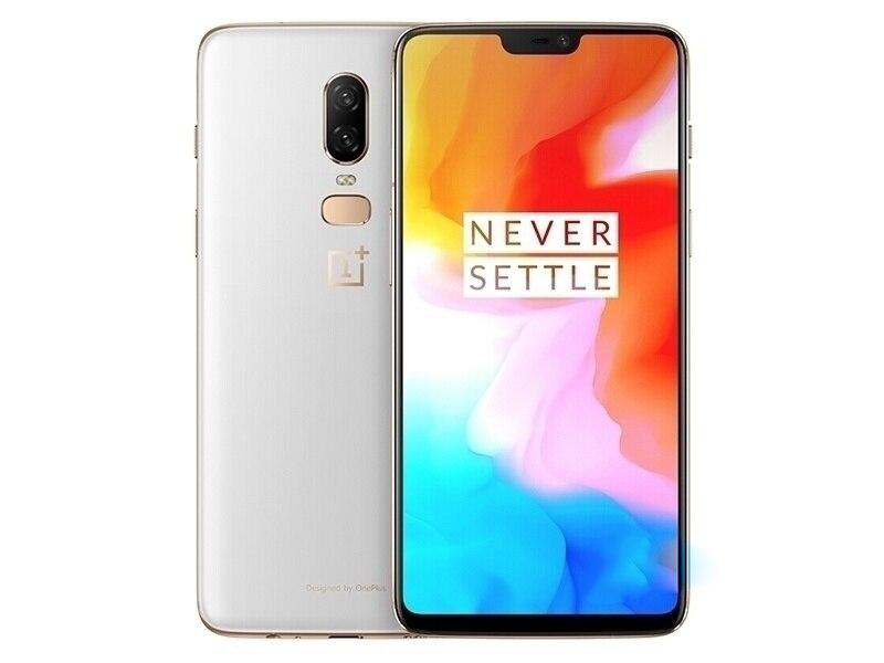 Original nouvelle Version de déverrouillage Oneplus 6 téléphone Mobile 4G LTE 6.28 8 GB RAM 128 GB double carte SIM Snapdragon 845 Smartphone Android
