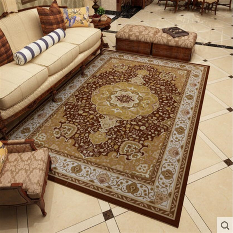190x280cm delicate european royal style large carpets for - Huge living room rugs ...