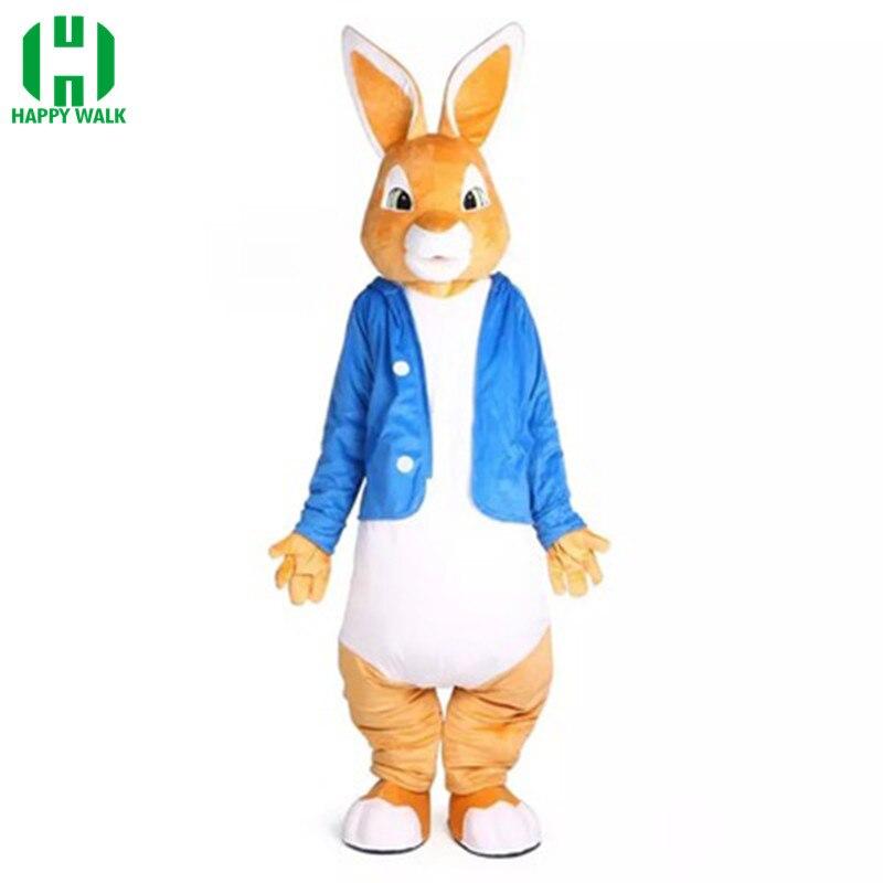 Peter lapin mascotte Costumes noël unisexe mascottes drôle Cosplay Costume Costume déguisement vêtements pour adulte Halloween pourim