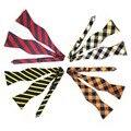 Atacado Auto Amarrado Bow Tie for Men Poliéster Semi-bowknot Casual Auto-amarrado Bowties Homens Listrado Dot Paisley Laços 14 Pçs/lote