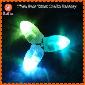 Бесплатная доставка 2000 шт украшение для праздника мигание СИД Свет Мини СИД воздушный шар лампион для бумажный фонарь свадебные сувениры