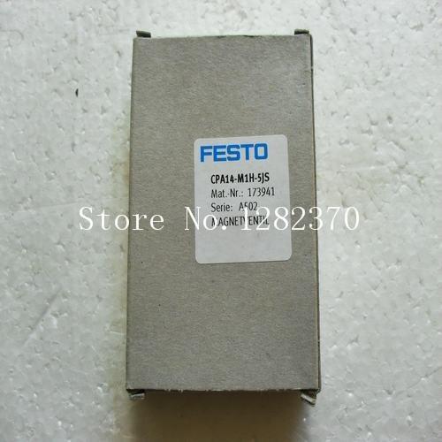 [SA] New original authentic special sales FESTO solenoid valve CPA14-M1H-5JS spot 173941 [sa] new original authentic special sales festo solenoid valve vl 5 3g d 2 c spot 151848