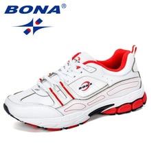 BONA 2019 New Popular Men Sport Shoes Man Sneakers Men Runni