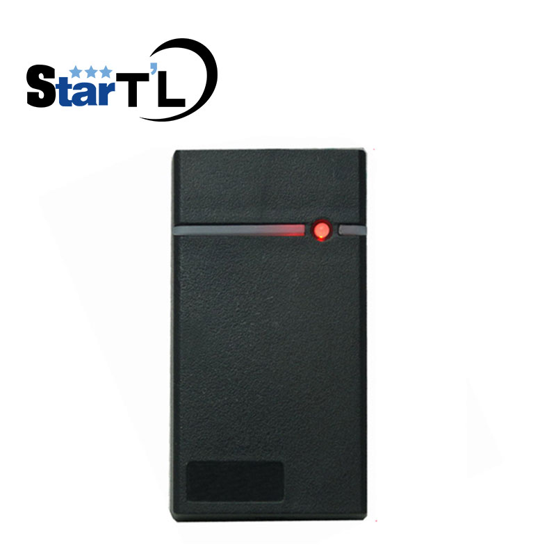 Mini IP65 Waterproof Card Wiegand RFID Smart EM Card ID Card Reader Slave Proximity EM Card Reader For Door Access Control