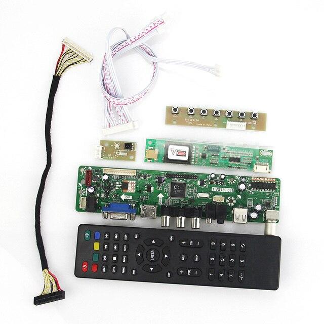 Для B170PW06 LP171WP4-TLN1 TL02 Т. VST59.03 LCD/LED Драйвер Контроллера Совета (ТВ + HDMI + VGA + CVBS + USB) LVDS Повторное Ноутбук 1440x900
