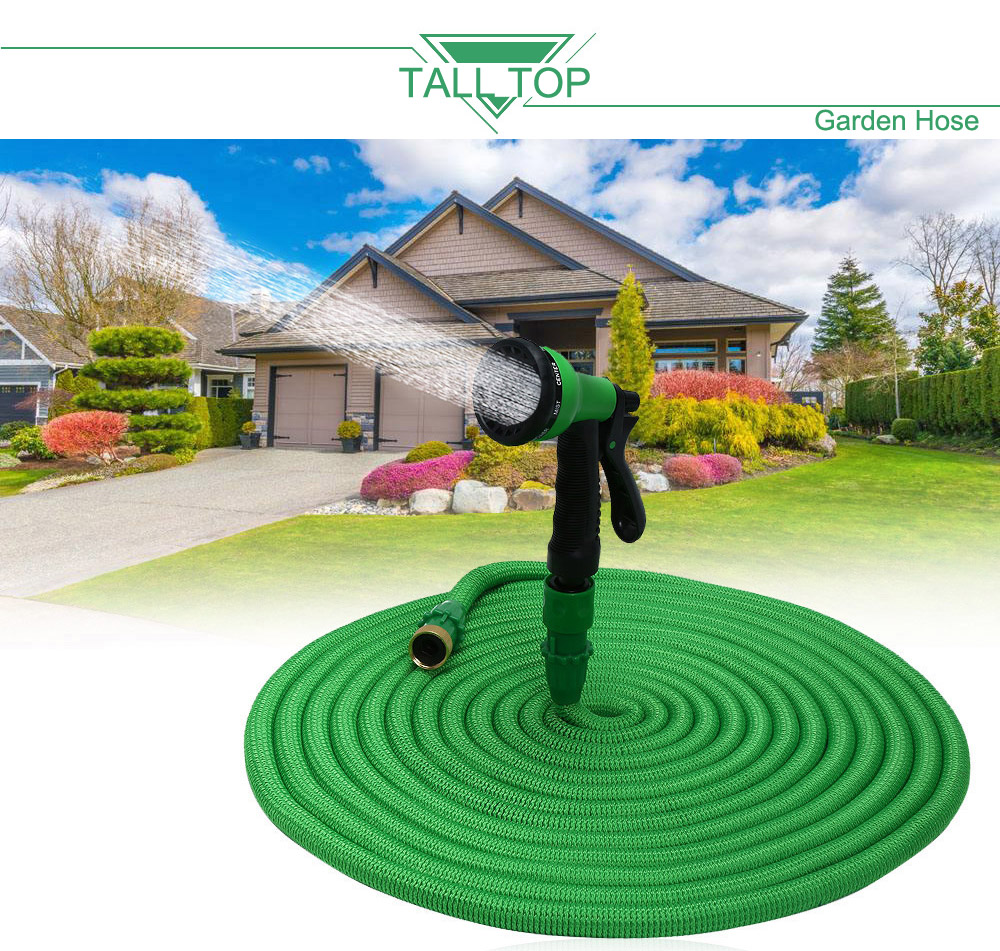 Tall Top Hot Sale 25ft 100ft Garden Hose Expanding Magic