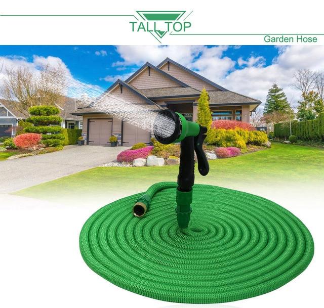 TALL TOP HOT SALE 25FT 100FT Garden Hose Expanding Magic Flexible ...