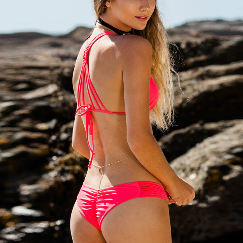 Biquine Womens 2018 Brazilian Departure Beach May Bikinis -5139