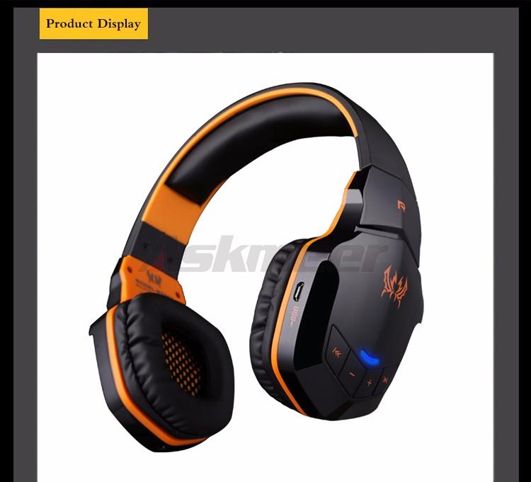 EACH B3505 Wrieless Bluetooth 4.1 Stereo Headphone Headband Earphone Headset with Mic for iPhone 6iPhone6 Plus Samsung (2)