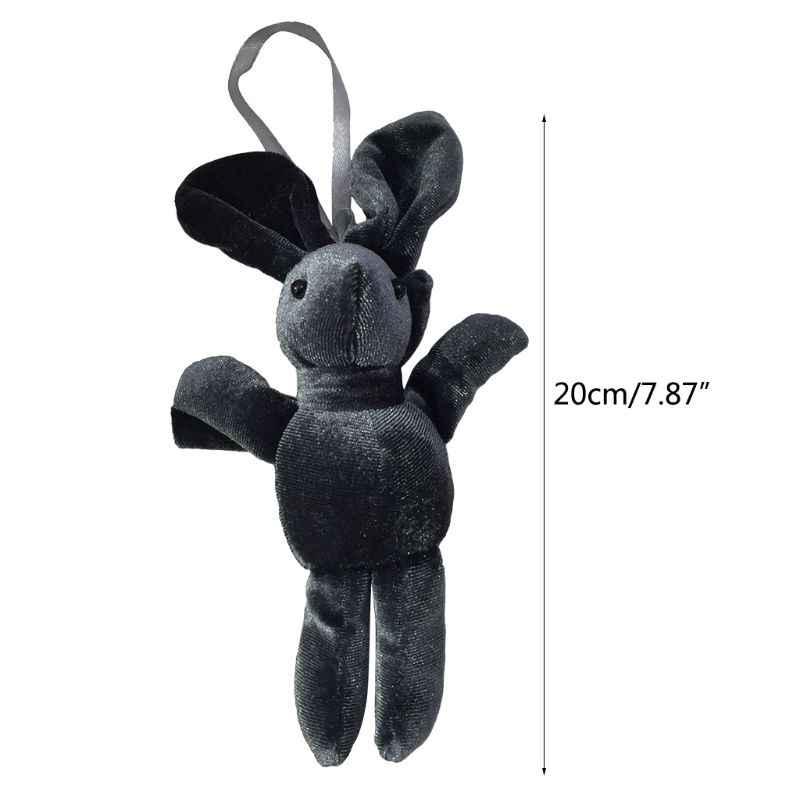 Милый мультфильм плюшевая ткань кролик кукла рюкзак кулон подвесной декор детская коляска кроватки палатка декор украшения