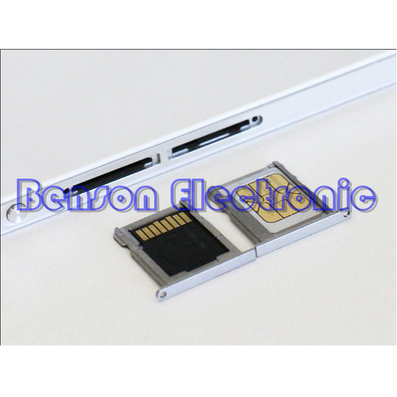 US $4 26 10% OFF|BaanSam New SIM Card Tray Slot And Micro SD Card Tray  Holder For Huawei Ascend P7 Replacement Parts-in Phone Pouch from  Cellphones &