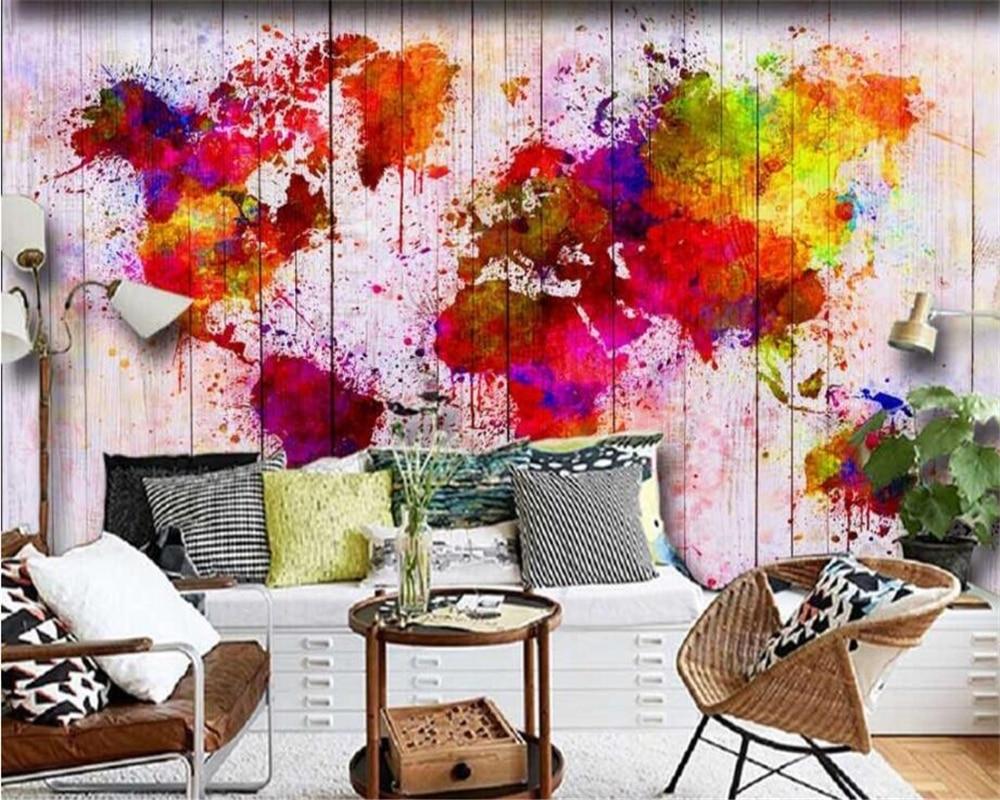 warna warni dinding