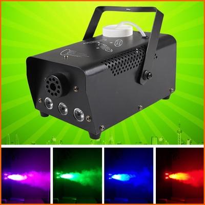 ФОТО 10pcs/lot, 400w RGB 3in1 Fog Machine For stage wedding decoration