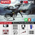 X8W Syma helicóptero UAV FPV cámara HD WiFi remoto inalámbrico X8W 2.4 GHz cámara UAV