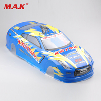 190mm Blue Color PVC Body Shell Accessory For 1/10 RC On Road Drift Car With Rear Ring 020B