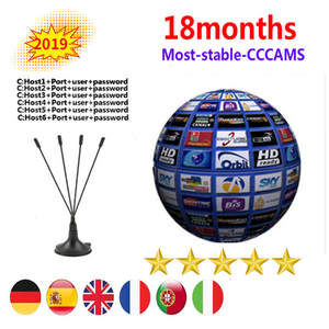 Cable Tv-Receiver Server Clines Cccams Spain Satellite DVB-S2 Europe Support WIFI HD