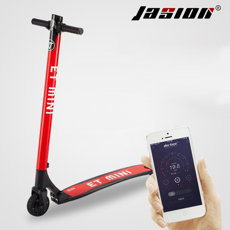 NEW 36V ET fully carbon fiber electric scooter Smart APP Cruse Double Brake  hidden folding 28km/h -in Electric Scooters from Sports & Entertainment on  ...