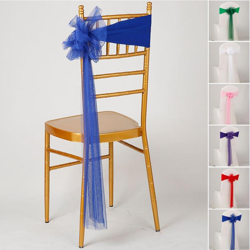 Popular Tulle Chair SashesBuy Cheap Tulle Chair Sashes lots from – Tulle Chair Bows