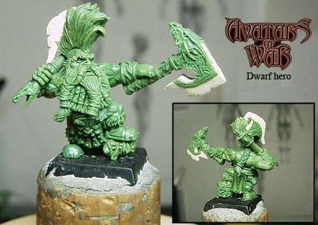 Dwarf hero 28mm