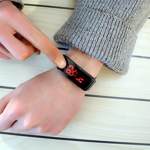Children Watch Boys Girls Kids Led Sports Watches Timekeeper Electronic Wristwat