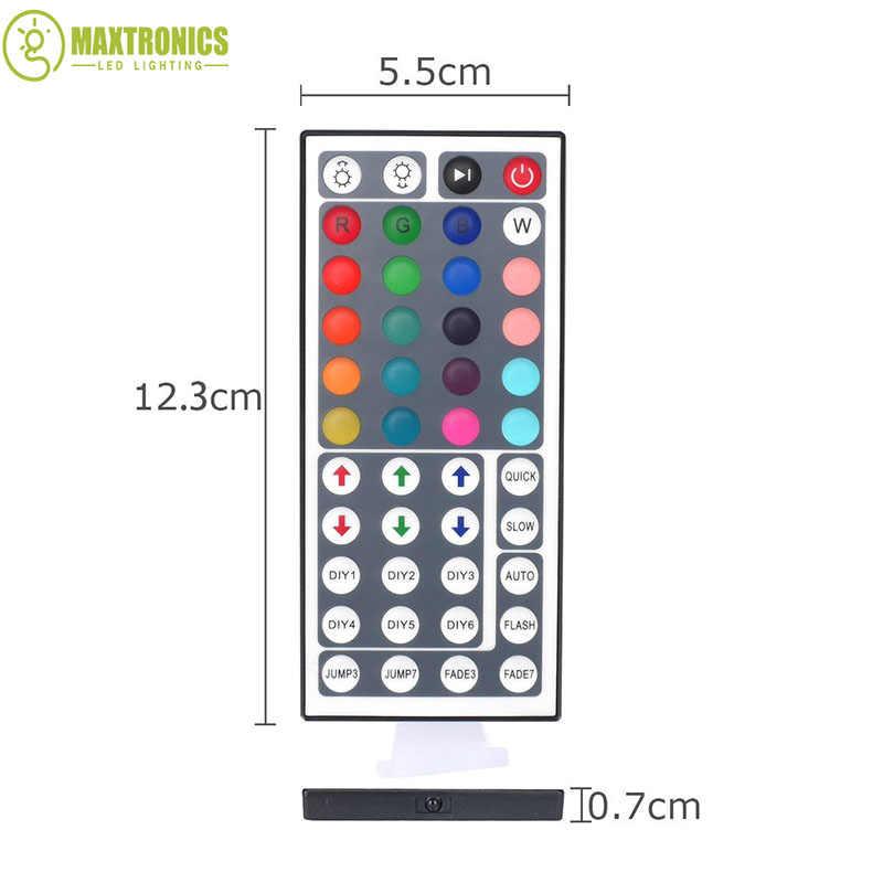 Yeni Mini 44key IR Uzaktan Kumanda RGB Renk led Kontrol Dimmer 12 V 5050/3528 Led Şerit işık Ücretsiz kargo