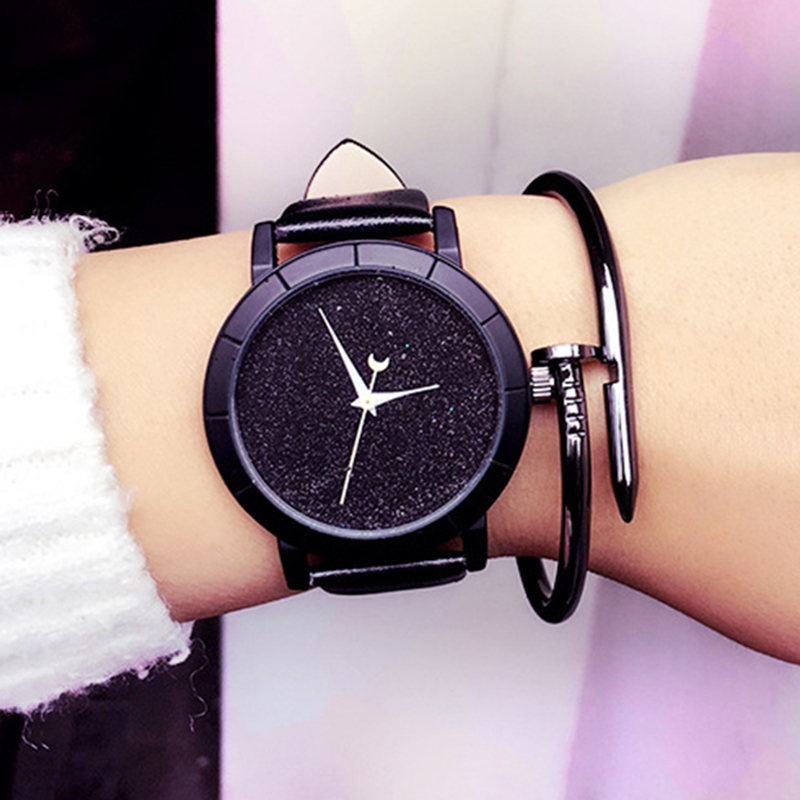 2018 Fashion Starry Watch Women Watches Ladies Girls Famous Brand Wrist Watch Female Clock Montre Femme Relogio Feminino Hot