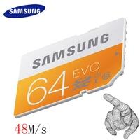 SAMSUNG 48M S SD Card 16G 32G 64G C10 UHS I EVO Memory Card Class 10