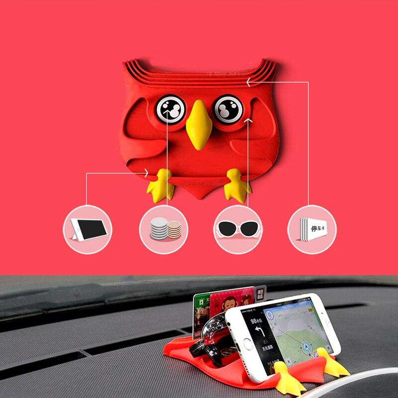 silikonowa mata antypoślizgowa do samochodu, uchwyt na deskę - Akcesoria do wnętrza samochodu - Zdjęcie 1